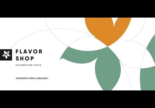 Flavor Shop Online cadeaubon 25 euro