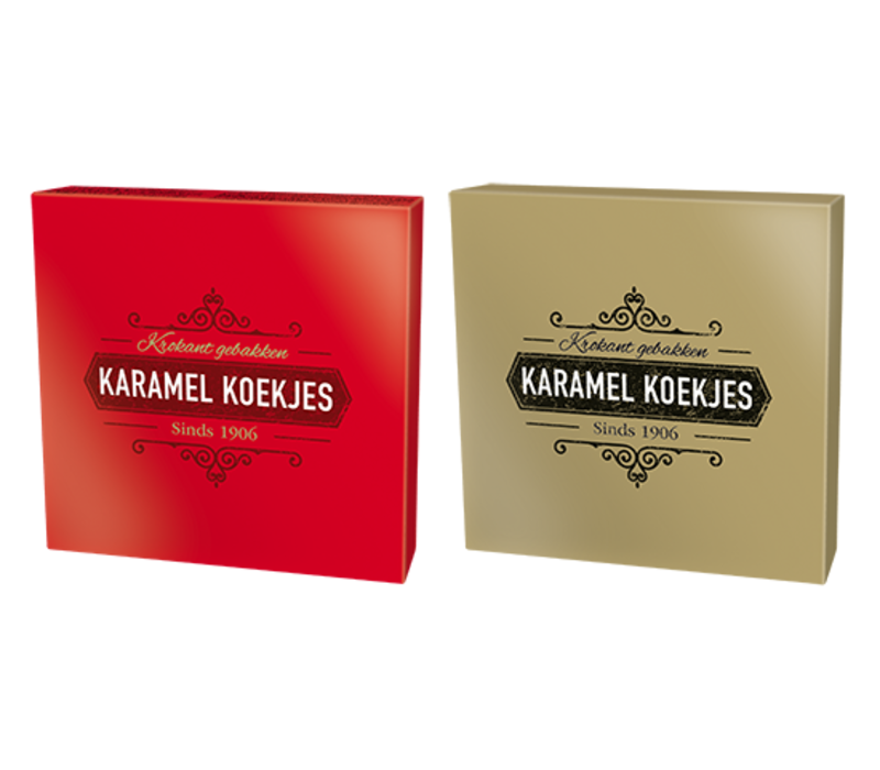 Karamel koekjes - Rood Goud