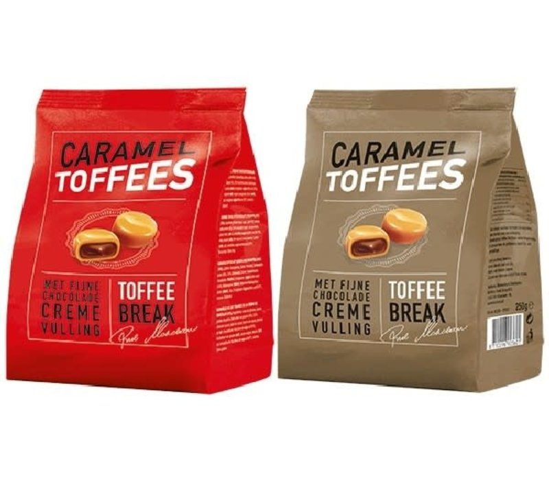 Caramel Toffees - Rood Goud