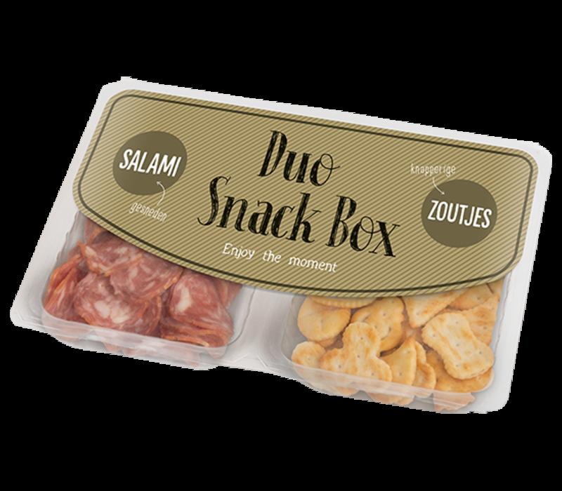 Duo Salami & Crackers Salés - Or