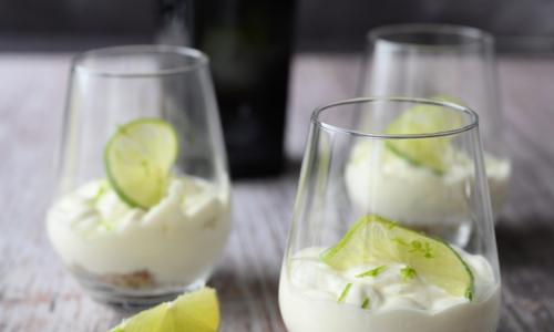 Recette de dessert au gin tonic