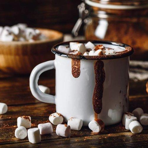 Chocolat chaud suprême aux mini marshmallows