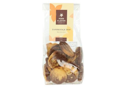 Pure Flavor Zandkoekje Duo met chocolade