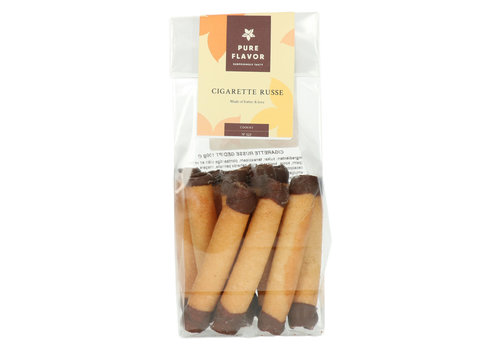 Pure Flavor Cigarette Russe Gedipt in Chocolade