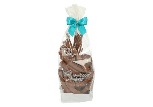 Valentino Chocolatier Orangettes met Melkchocolade