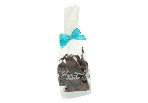 Valentino Chocolatier Cerisettes met zwarte chocolade