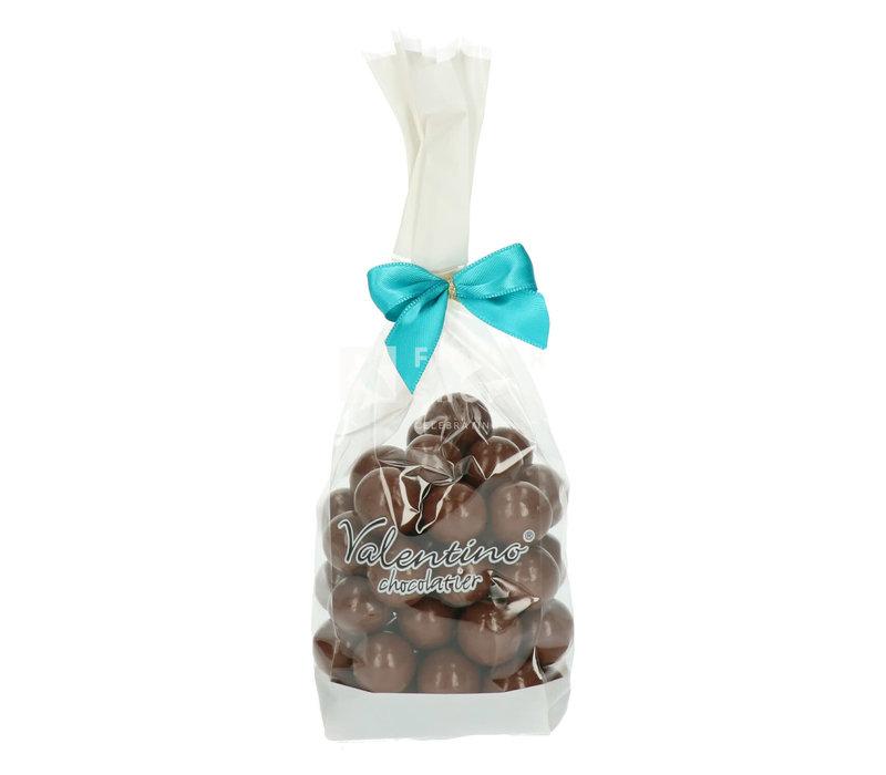 Hazelnoten omhuld met melkchocolade