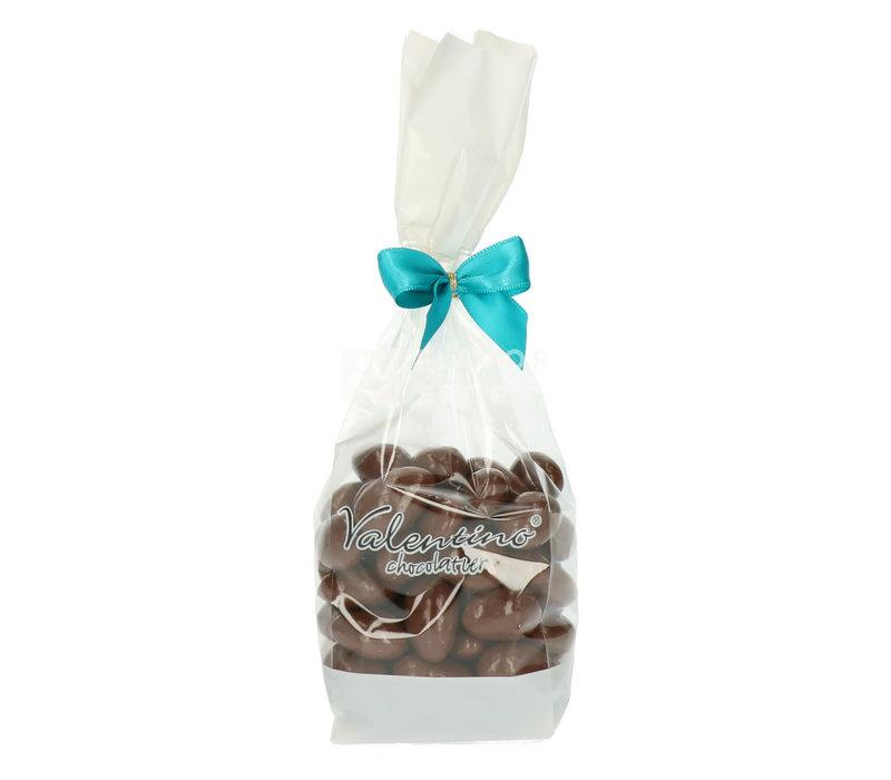 Amandelen omhuld met melkchocolade