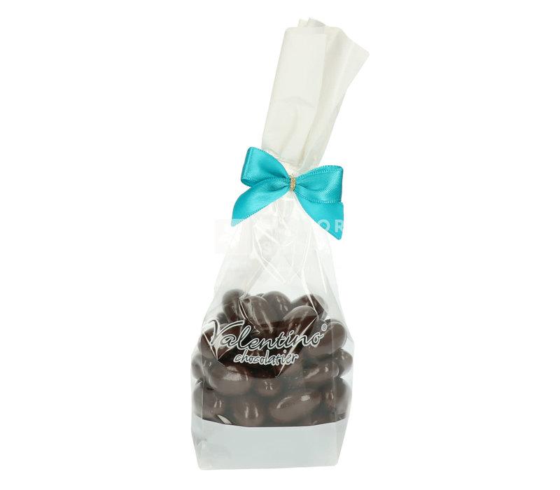 Amandelen omhuld met fondant chocolade