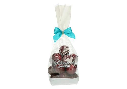 Valentino Chocolatier Truffes au Gin rouge Lindemans et chocolat noir