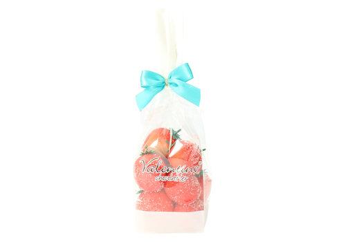 Valentino Chocolatier Marsepein Aardbeien