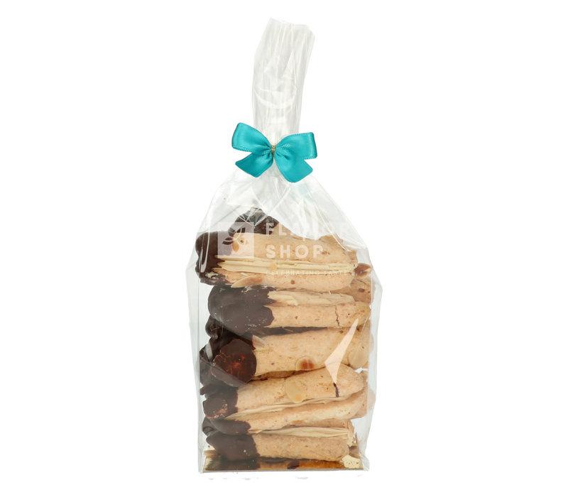 Ambachtelijke Bokkenpootjes - Zwarte Chocolade & Mokka