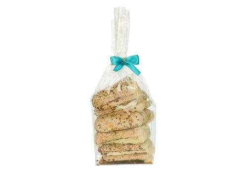 Pure Flavor Ambachtelijke Bokkenpootjes - Witte Chocolade & Pistache