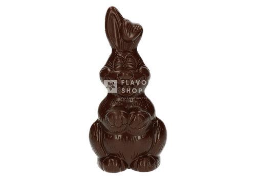 Valentino Chocolatier Paashaas - Pure Chocolade 250g - 24cm