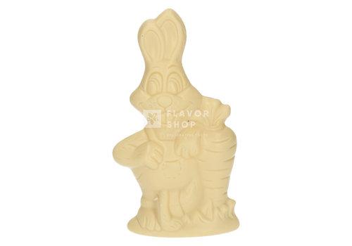Valentino Chocolatier Paashaas - Witte Chocolade 150g - 19cm