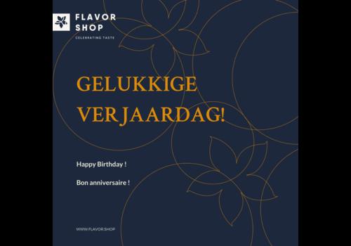 Flavor Shop Gepersonaliseerd verjaardagskaartje