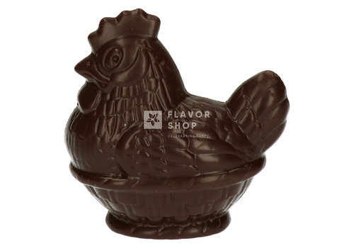 Valentino Chocolatier Poulet de Pâques - Chocolat noir 100g