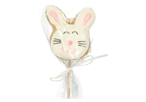 Koekje - Lollie wit konijntje