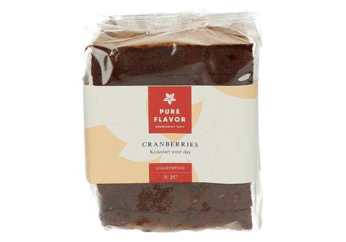 Pure Flavor Pain d'épices aux canneberges