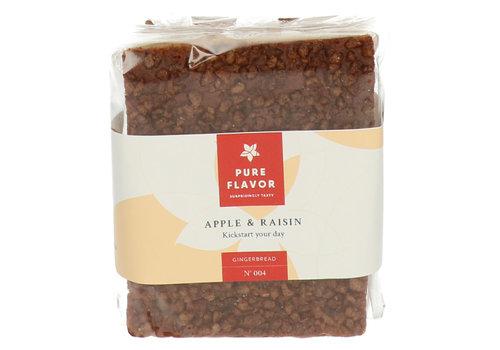 Pure Flavor Pain d'épices à la pomme et aux raisins secs