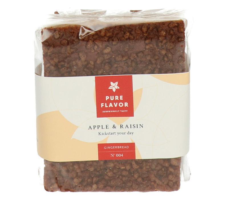 Peperkoek met Appel en Rozijn