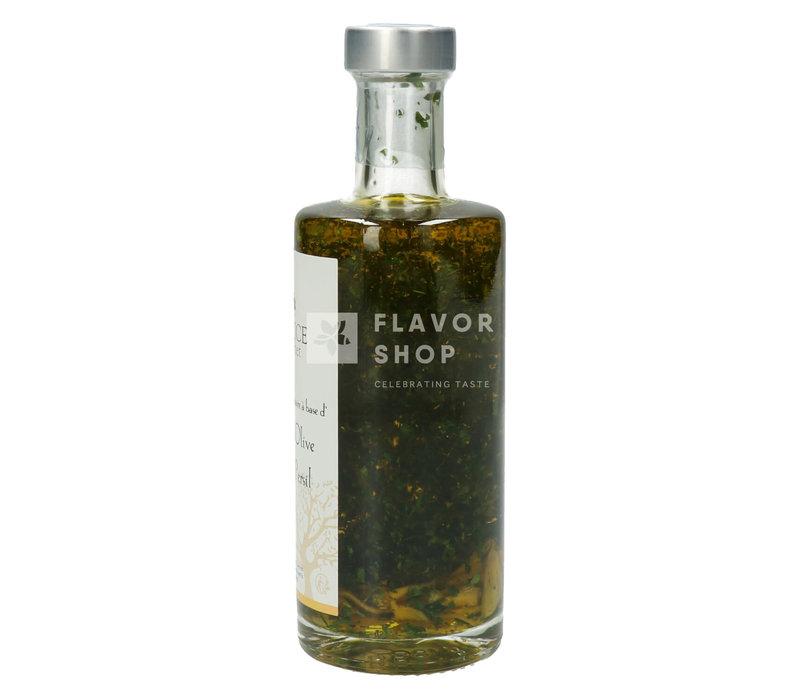 Huile d'olive à l'ail et au persil 25 cl