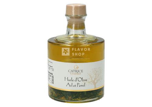 Catrice Gourmet Huile d'olive à l'ail et au persil 25 cl en bouteille empilable