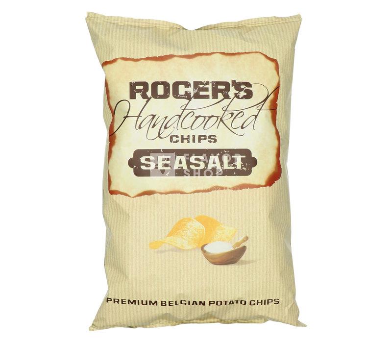 Chips de pommes de terre au sel de mer