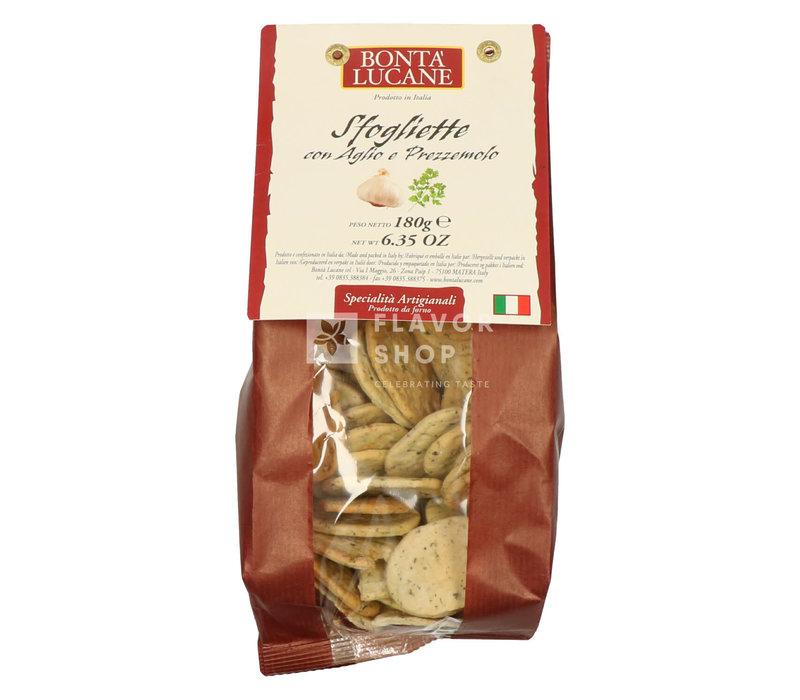 Sfogliette aglio & prezzemolo (look & peterselie)