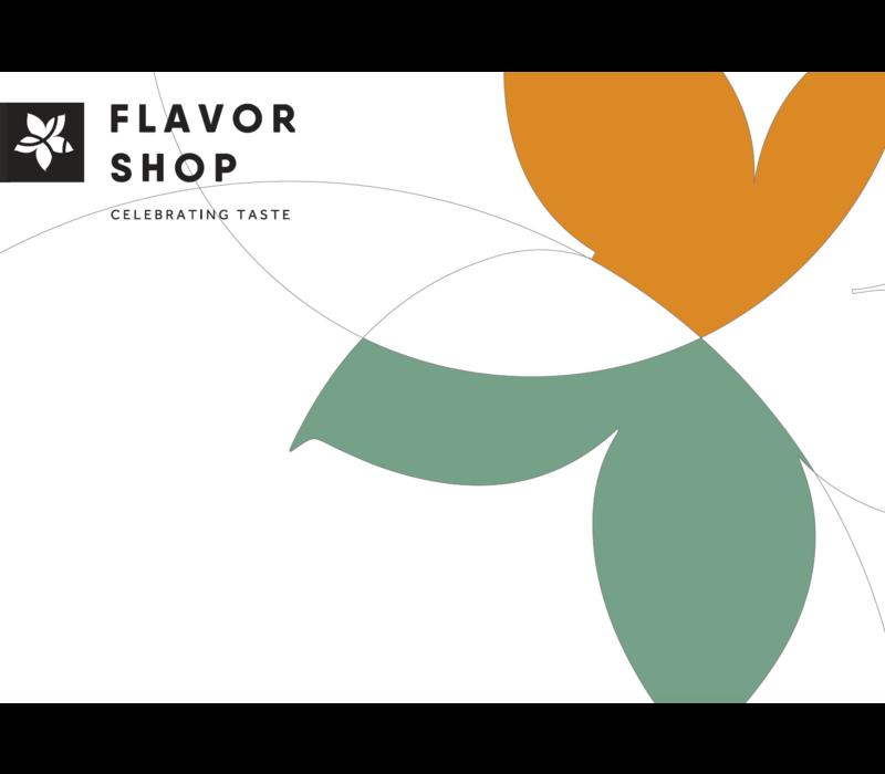 Gepersonaliseerde Flavor Shop wenskaart