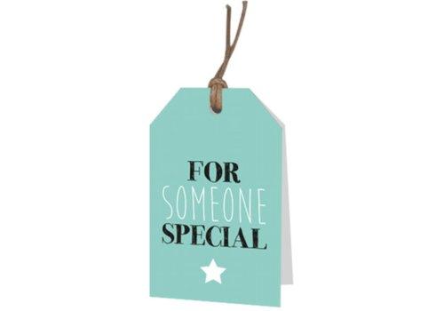 For someone special - wenskaartje (voeg je persoonlijke boodschap toe)