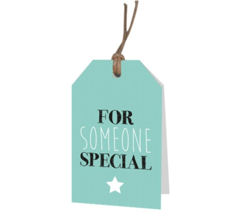 For someone special' wenskaartje