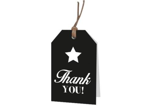 Thank You - wenskaartje (voeg je persoonlijke boodschap toe)