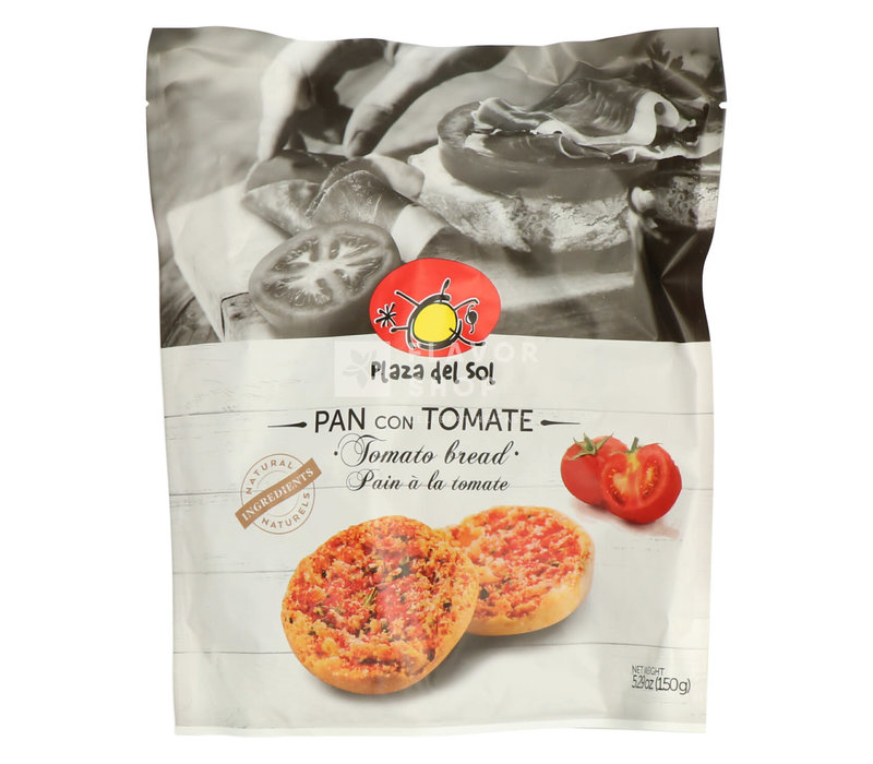 Pain à la tomate (Pan con Tomate)