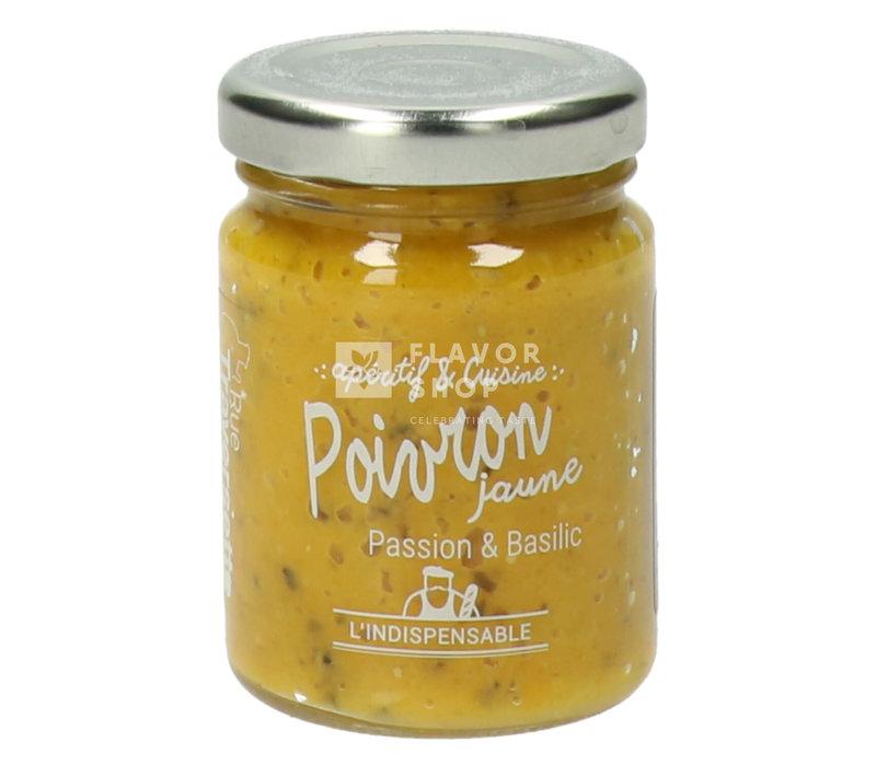 Tapenade Gele Paprika, passie & basilicum