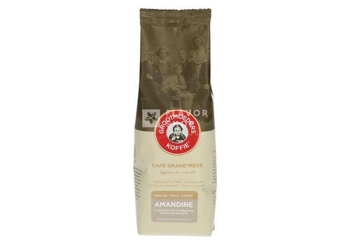 Grootmoeders Koffie Koffie Amandine 125 g Gemalen