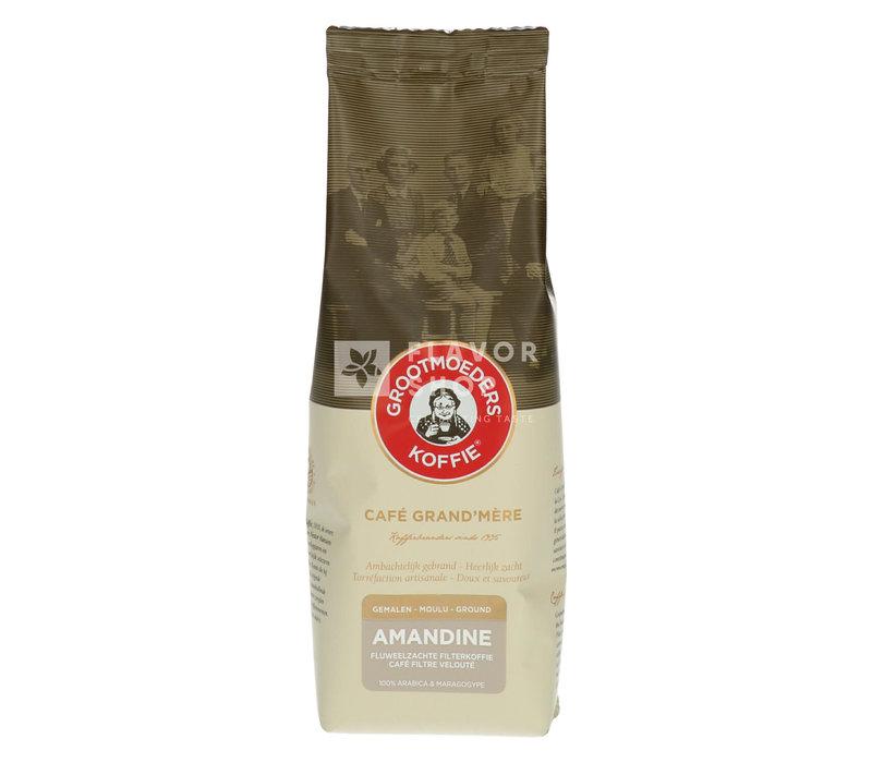 Koffie Amandine 125 g Gemalen
