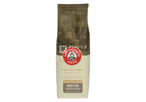Grootmoeders Koffie Koffie Nestor 125 g Gemalen