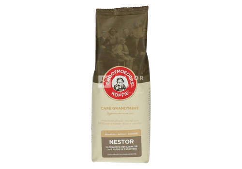 Grootmoeders Koffie Koffie Nestor 250g Gemalen