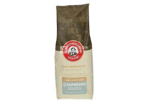 Grootmoeders Koffie Grains de café expresso 250g