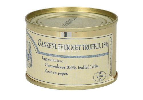 Handsaeme Foie gras van ganzen met truffel 65 g