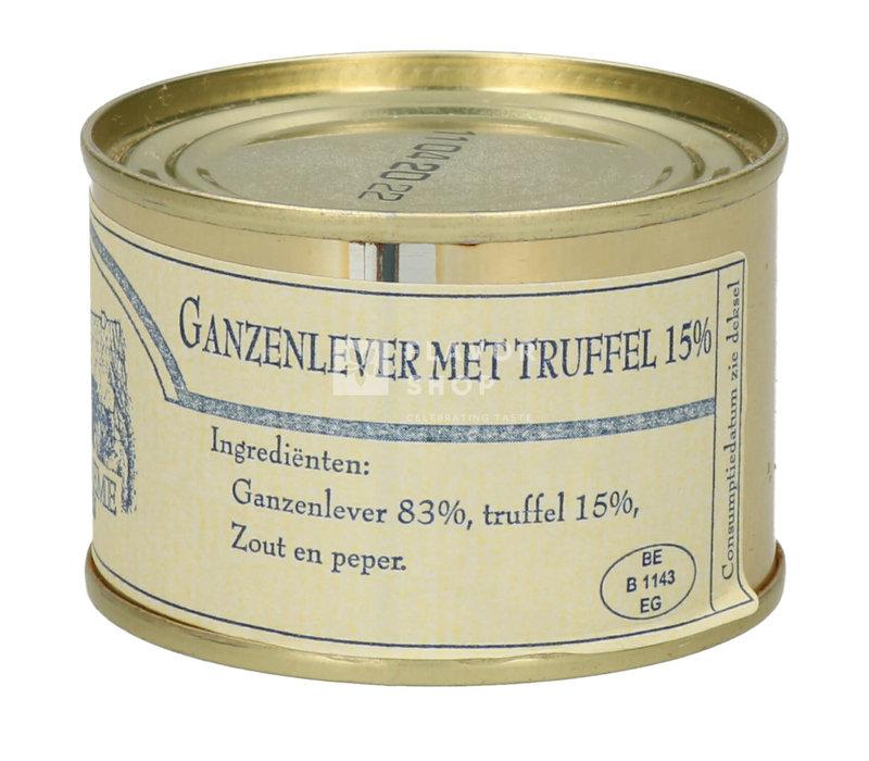 Foie gras van ganzen met truffel 65 g