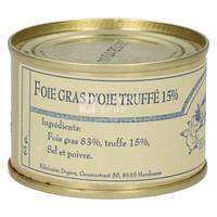 Foie gras d'oie truffé 65 g