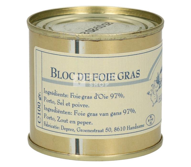 Bloc de foie gras 100g