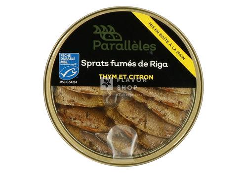 Parallèles Gerookte Sprats met tijm & citroen