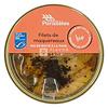 Parallèles Makreel met mosterdzaadjes