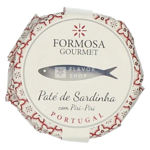 Paté de Sardinha com piri piri