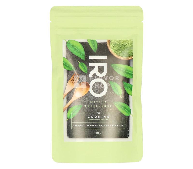Matcha thee voor koken Biozakje 100 g