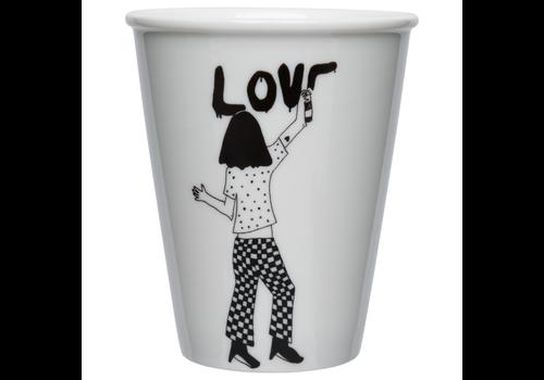 helen b gobelet en porcelaine Love