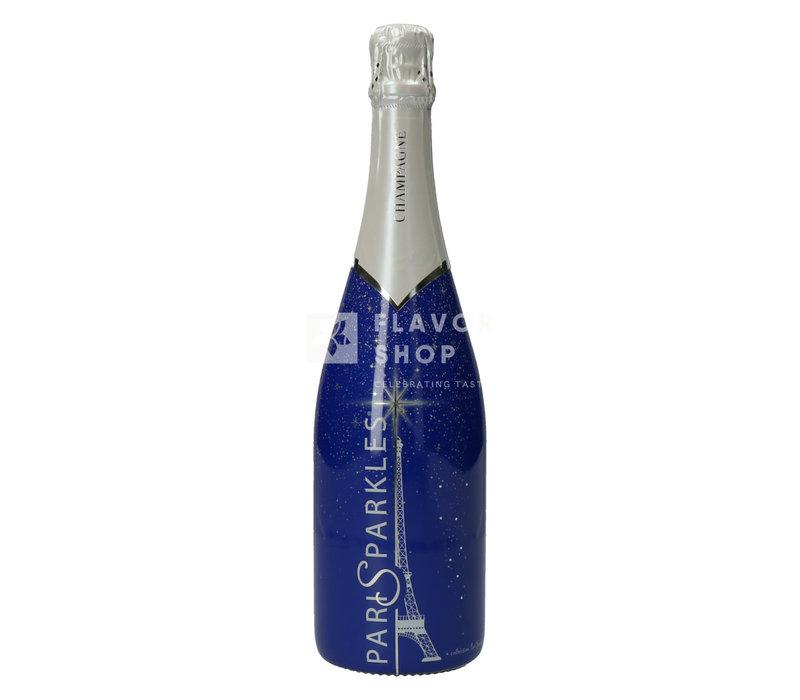 Champagne Paris Sparkles Bleu - Charbaux Frères